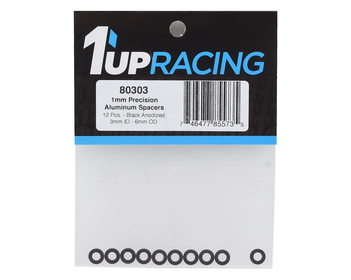 Image 2 for 1UP Racing Precision Aluminum Shims (Black) (12) (1mm)