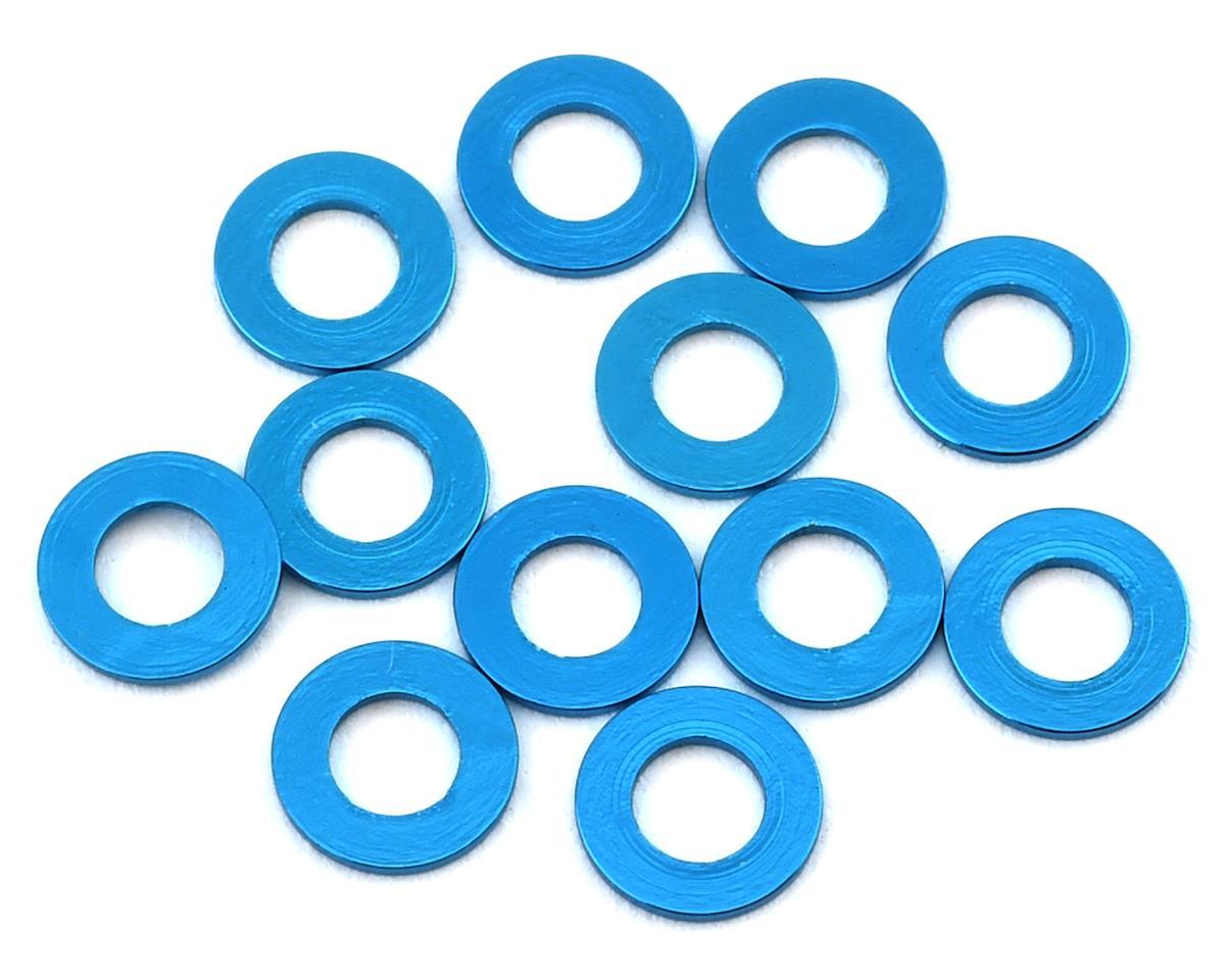 1UP Racing Precision Aluminum Shims (Blue) (12) (25mm)