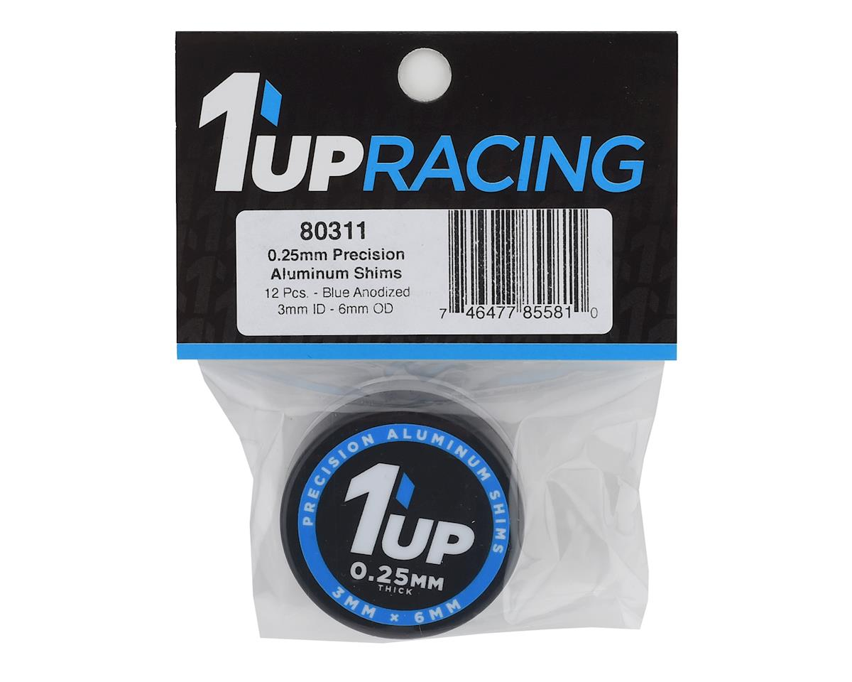 Image 2 for 1UP Racing Precision Aluminum Shims (Blue) (12) (25mm)