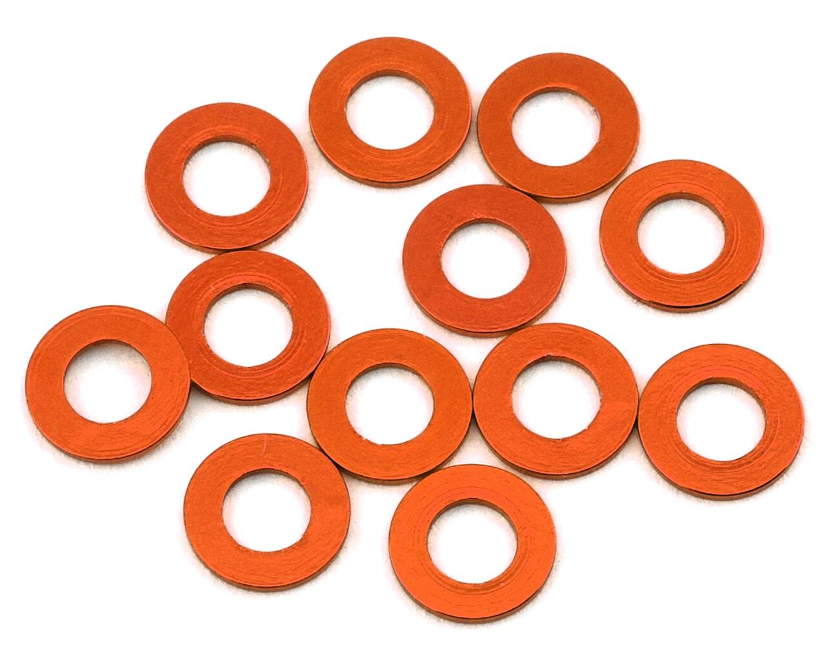 1UP Racing Precision Aluminum Shims (Orange) (12) (25mm)