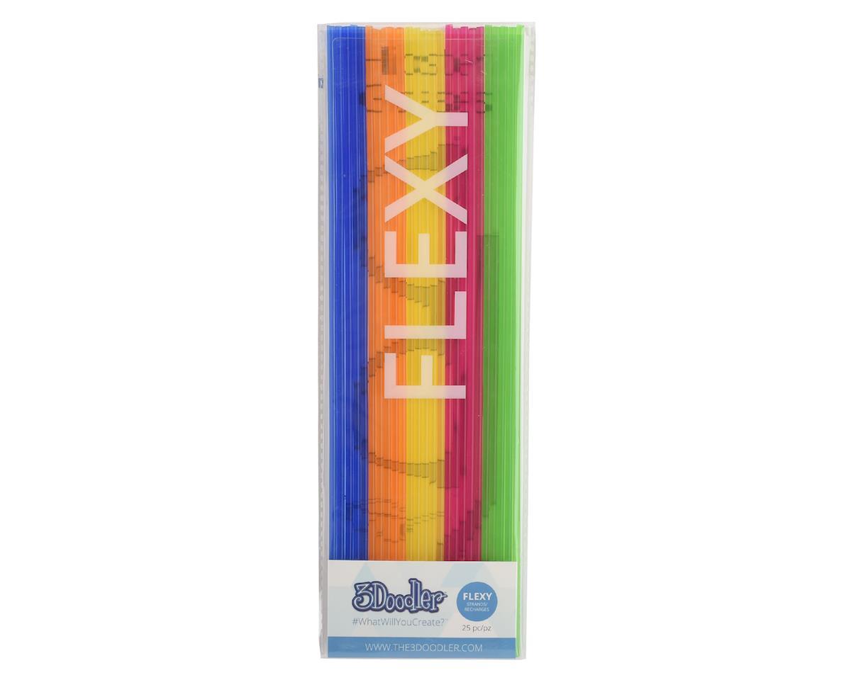 """3Doodler """"Super Fruits"""" FLEXY 3D Printing Pen Filament (25)"""