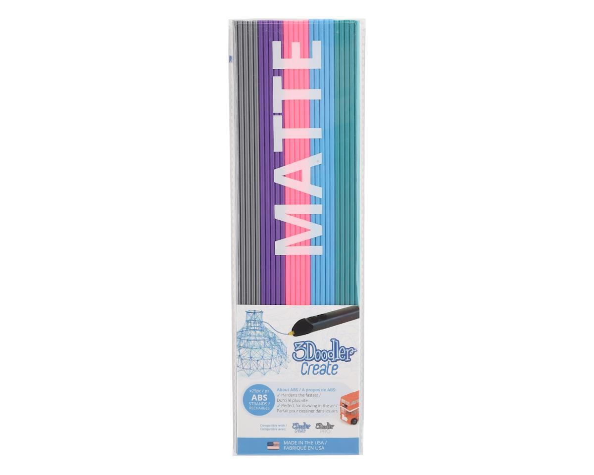 "3Doodler ""Cool Corals"" Matte ABS 3D Printing Pen Filament (25)"