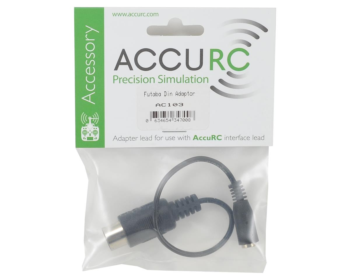 AccuRC DIN Adapter (Futaba)