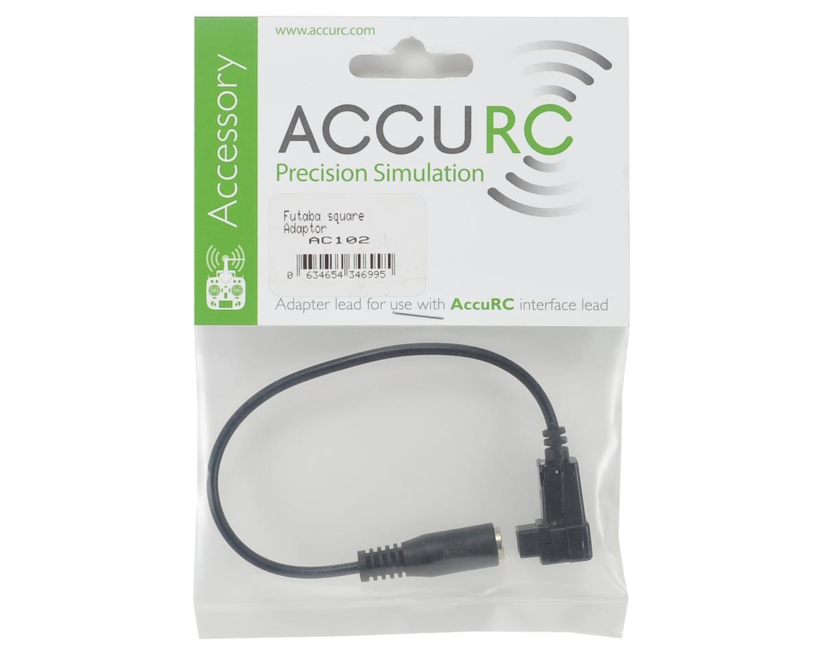 AccuRC Square Adapter (Futaba)