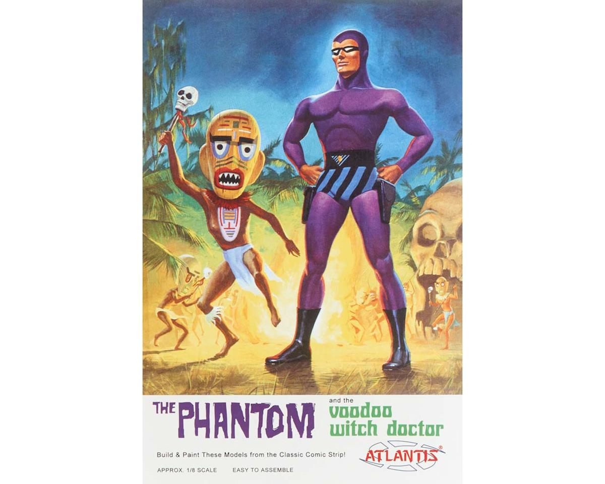 Atlantis Models AMC-3004 1/8 Phantom and the Voodoo Witch Doctor