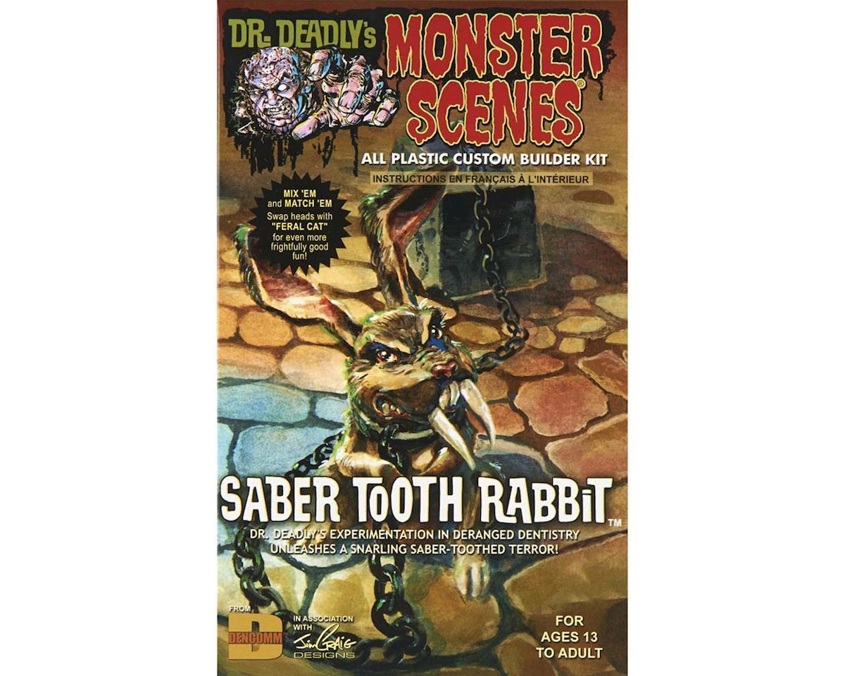 Atlantis Models Dencomm 711 1/13 Saber Tooth Rabbit