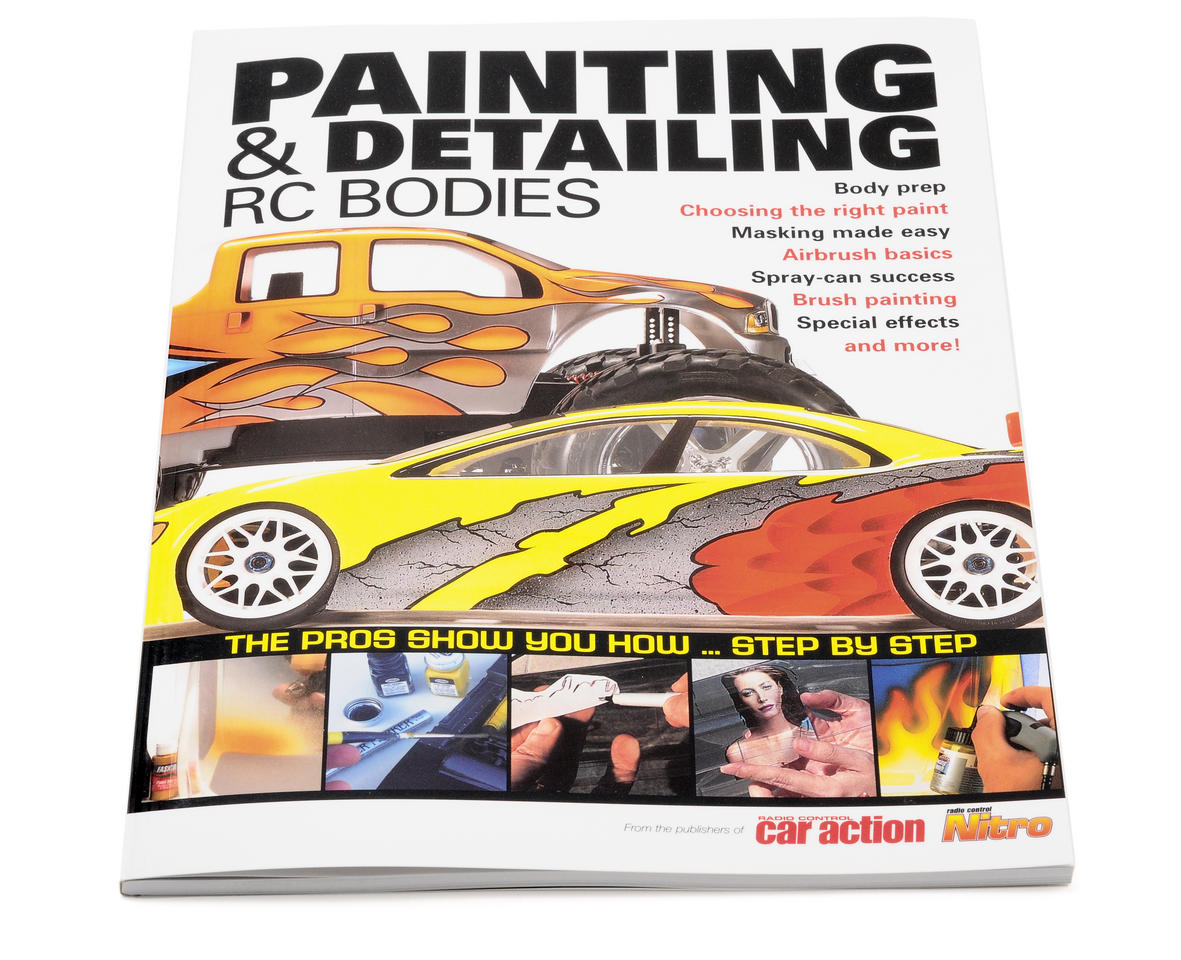 Air Age Publishing Painting & Detailing R/C Bodies