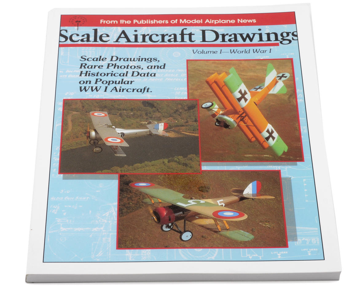 Air Age Publishing Scale Aircraft Drawings: Vol.1 WWI