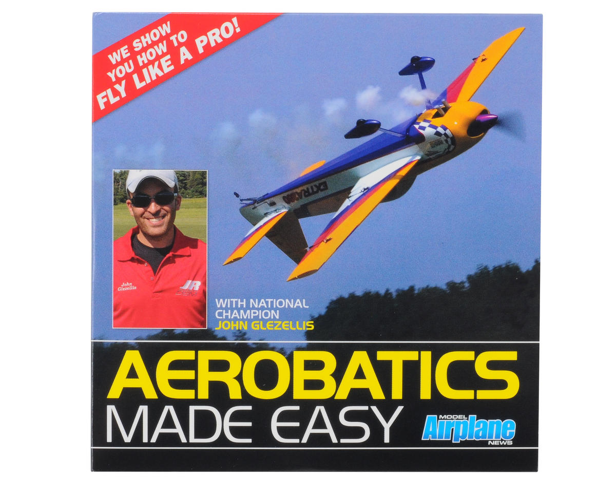 "Air Age Publishing Model Airplane News ""Aerobatics Made Easy"" DVD"