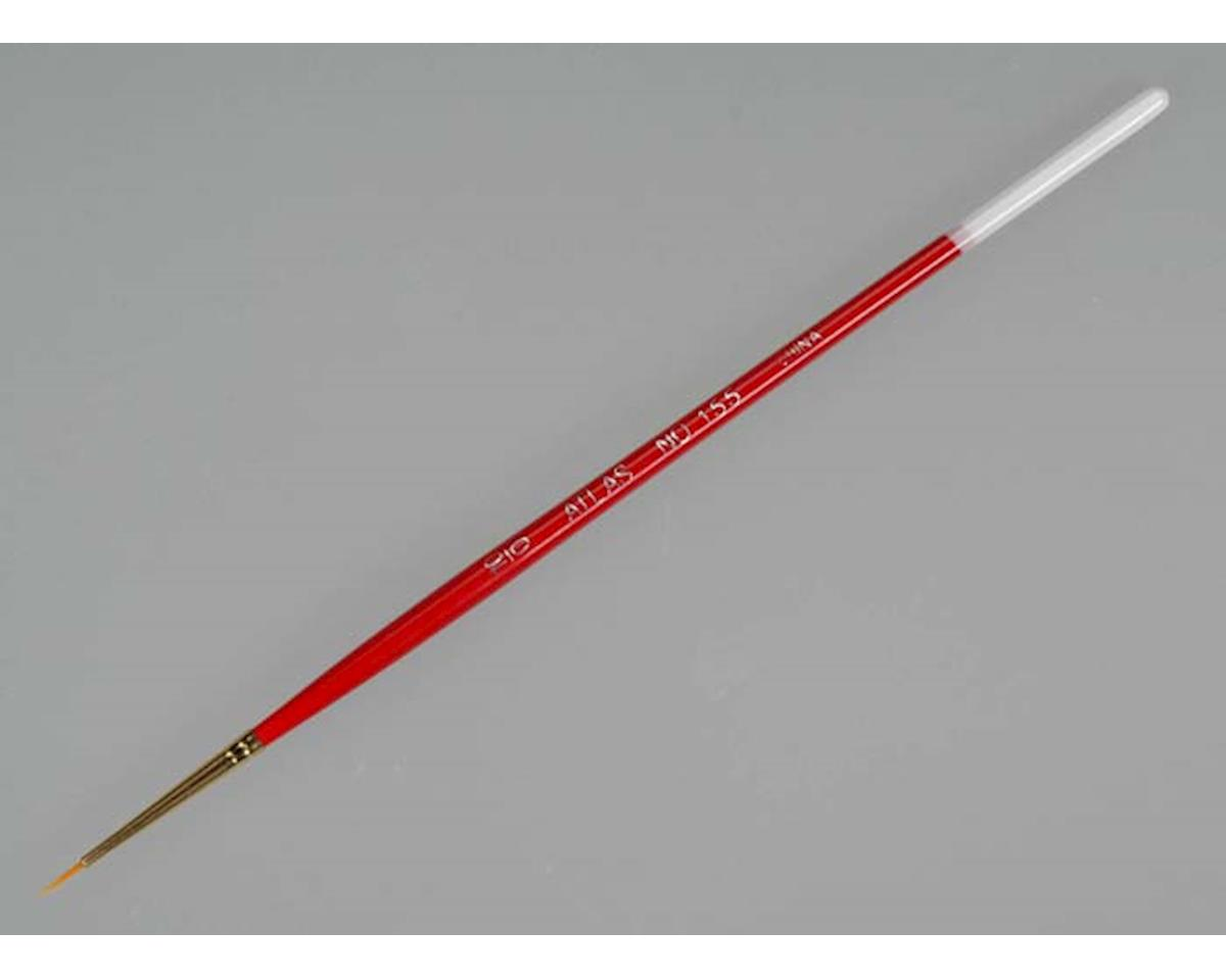 Atlas Brush 155-10/0 Golden Taklon Round 10/0