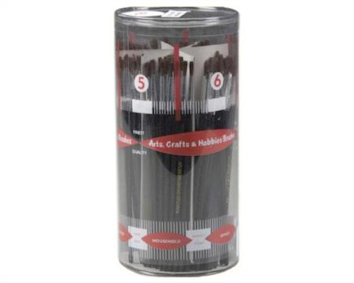 Atlas Brush Brush Cylinder Asst Dlx Camel Hair #1-6 (12 Dz)