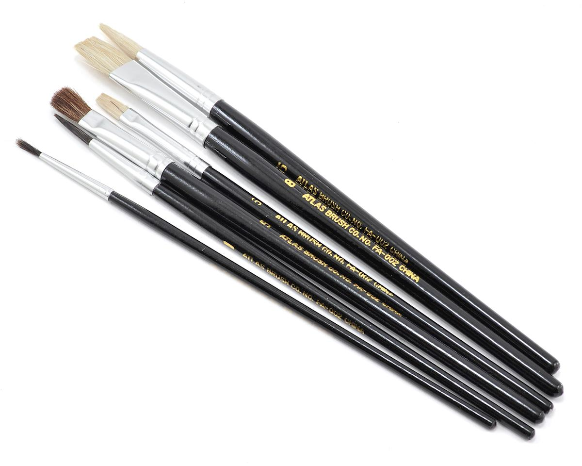 Economy Paint Brush Set (6) by Atlas Brush