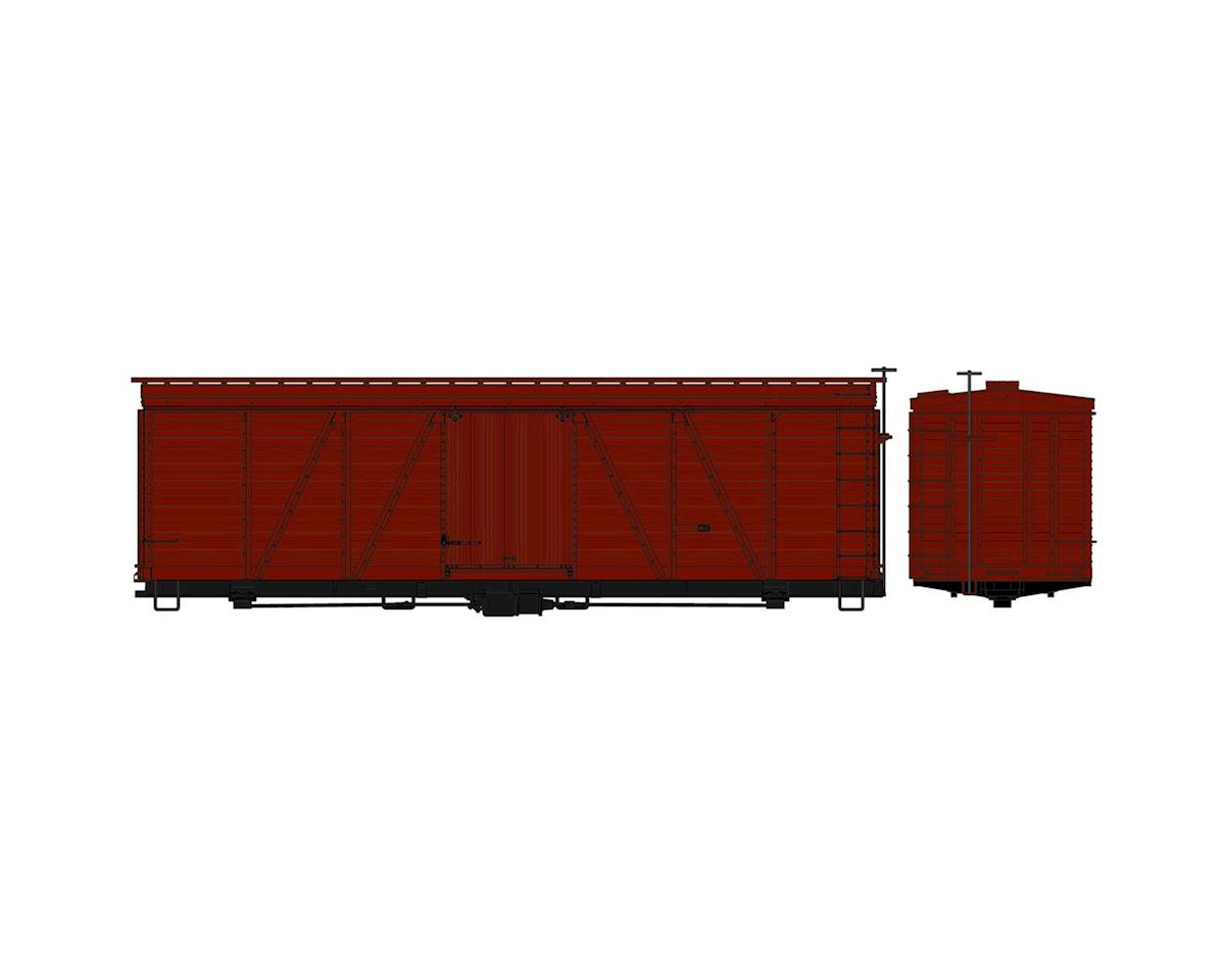 Accurail HO KIT 36' Fowler Wood Box, Undecorated