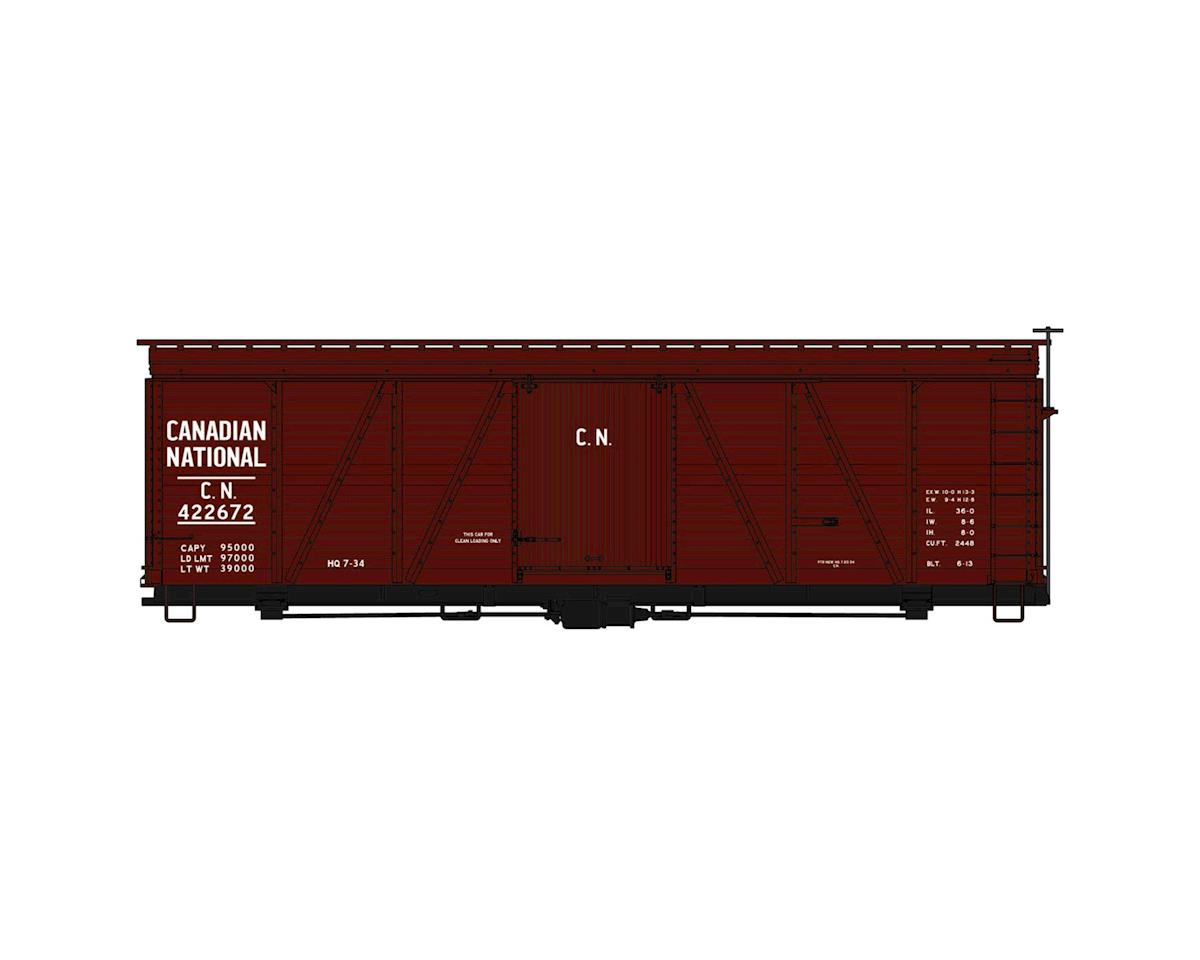 Accurail HO KIT 36' Fowler Wood Box, CN