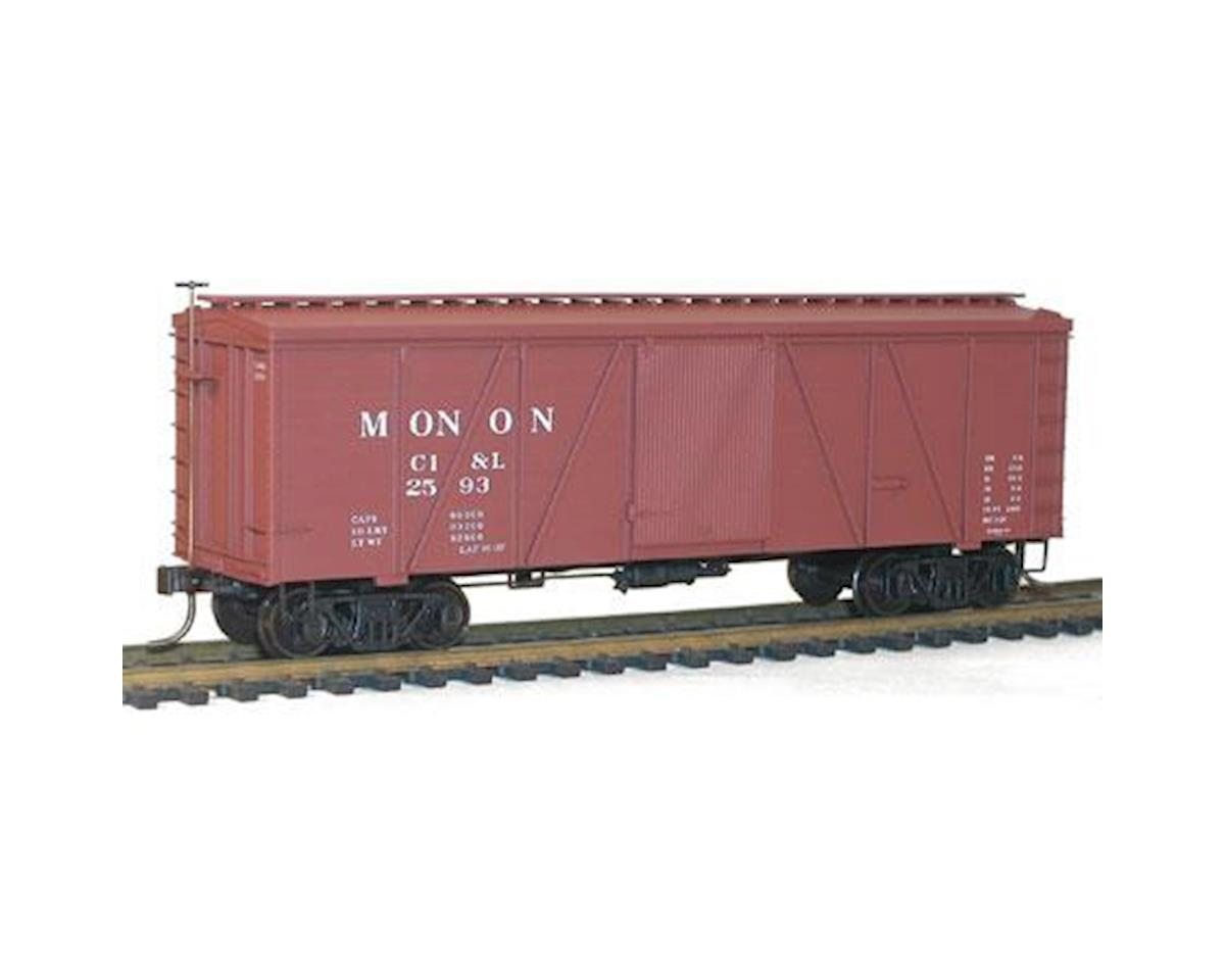 Accurail HO KIT 36' Fowler Wood Box, Monon