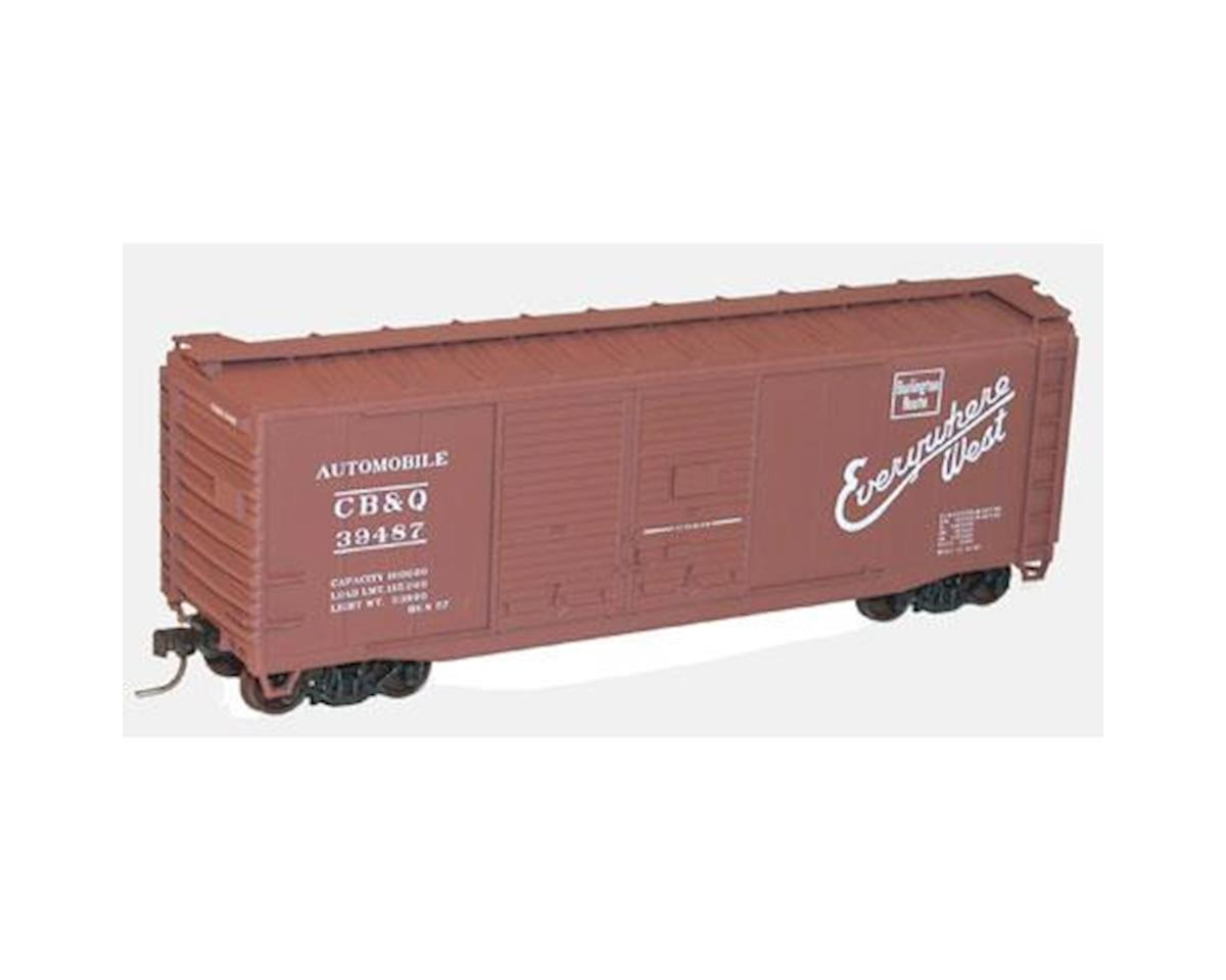 Accurail HO KIT 40' Double Door Steel Box, CB&Q