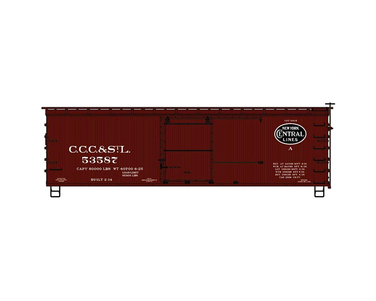 HO KIT 36' Double Sheath Box, CCC&StL/NYC