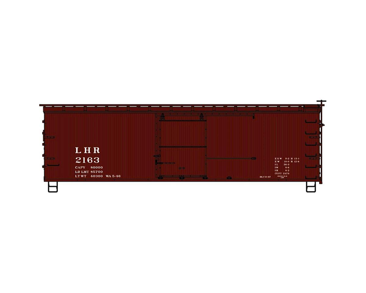 Accurail HO KIT 36' Double Sheath Box, L&HR