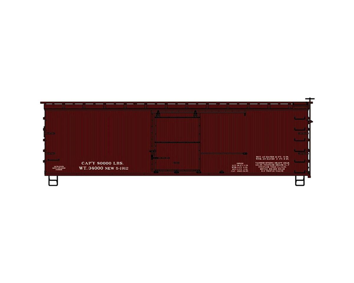 HO KIT 36' Double Sheath Box,Data Only/Mineral Red