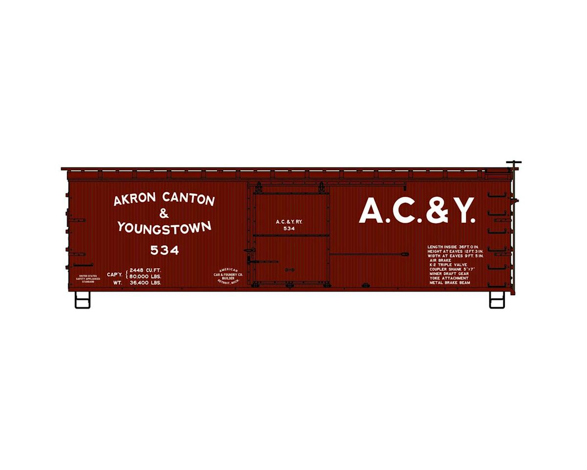 Accurail HO KIT 36' Double Sheath Box, AC&Y