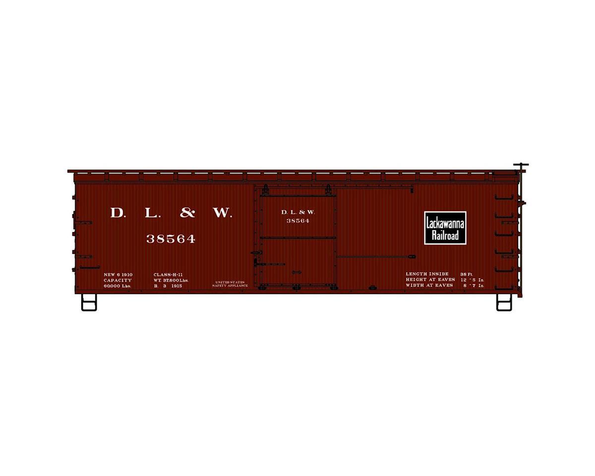 HO KIT 36' Double Sheath Box, DL&W