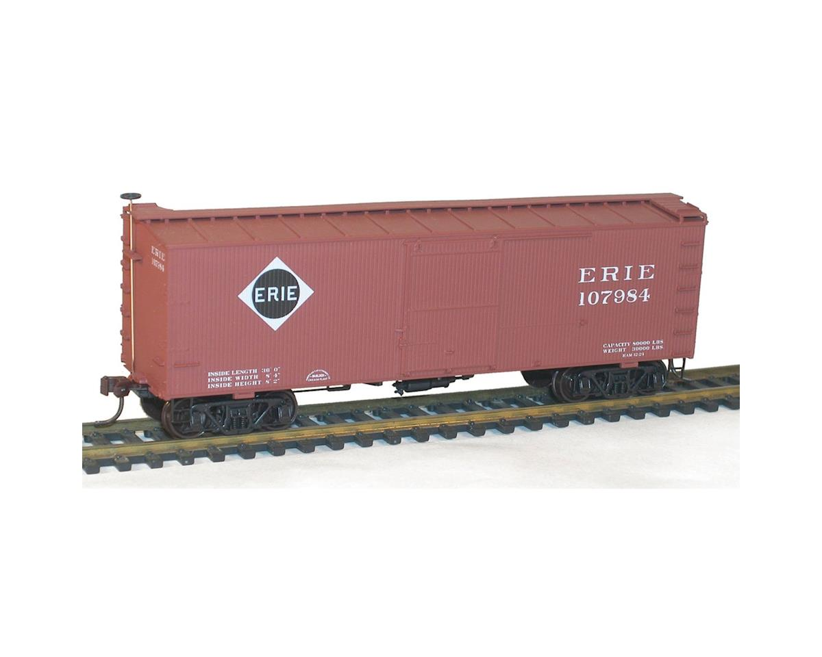 Accurail HO KIT 36' Double Sheath Box, Erie