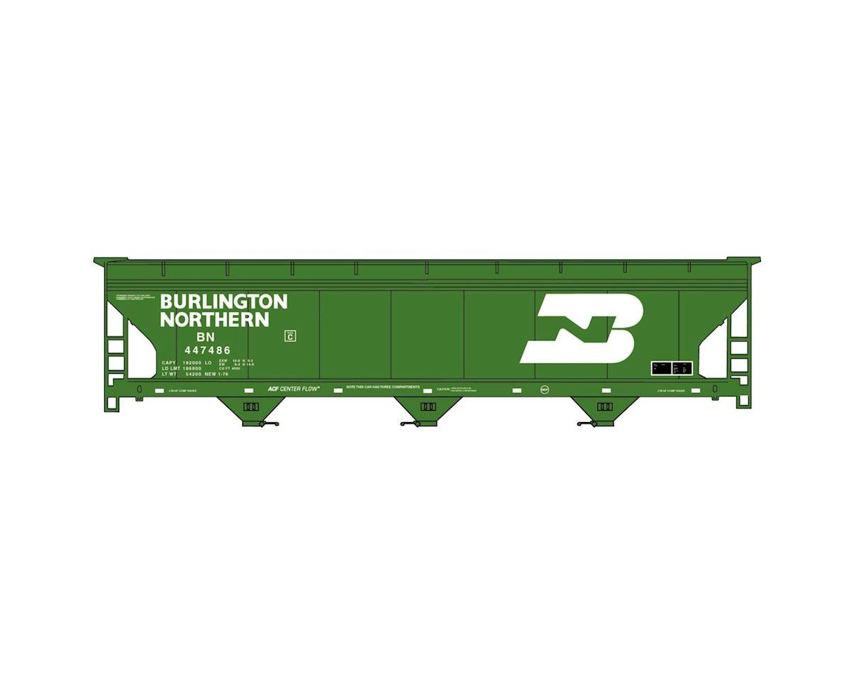 HO KIT ACF 3-Bay Covered Hopper, BN by Accurail