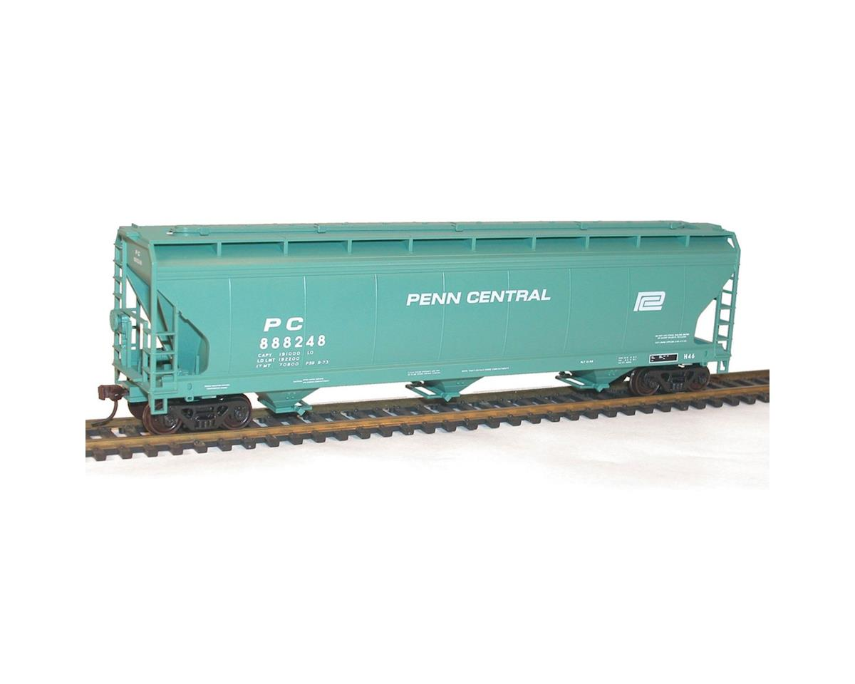 Accurail HO KIT 3-Bay ACF Covered Hopper, PC