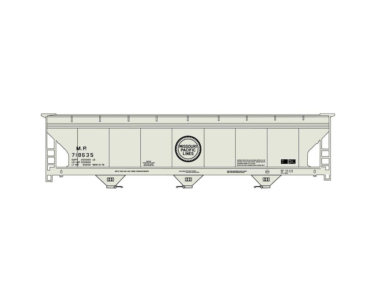 Accurail HO KIT 3-Bay Coverend Hopper, MP