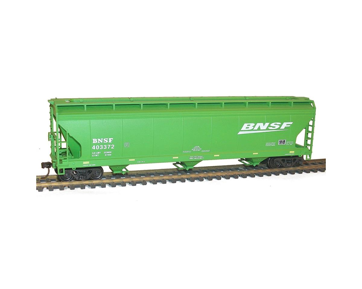 Accurail HO KIT 3-Bay Coverend Hopper, BNSF/Wedge
