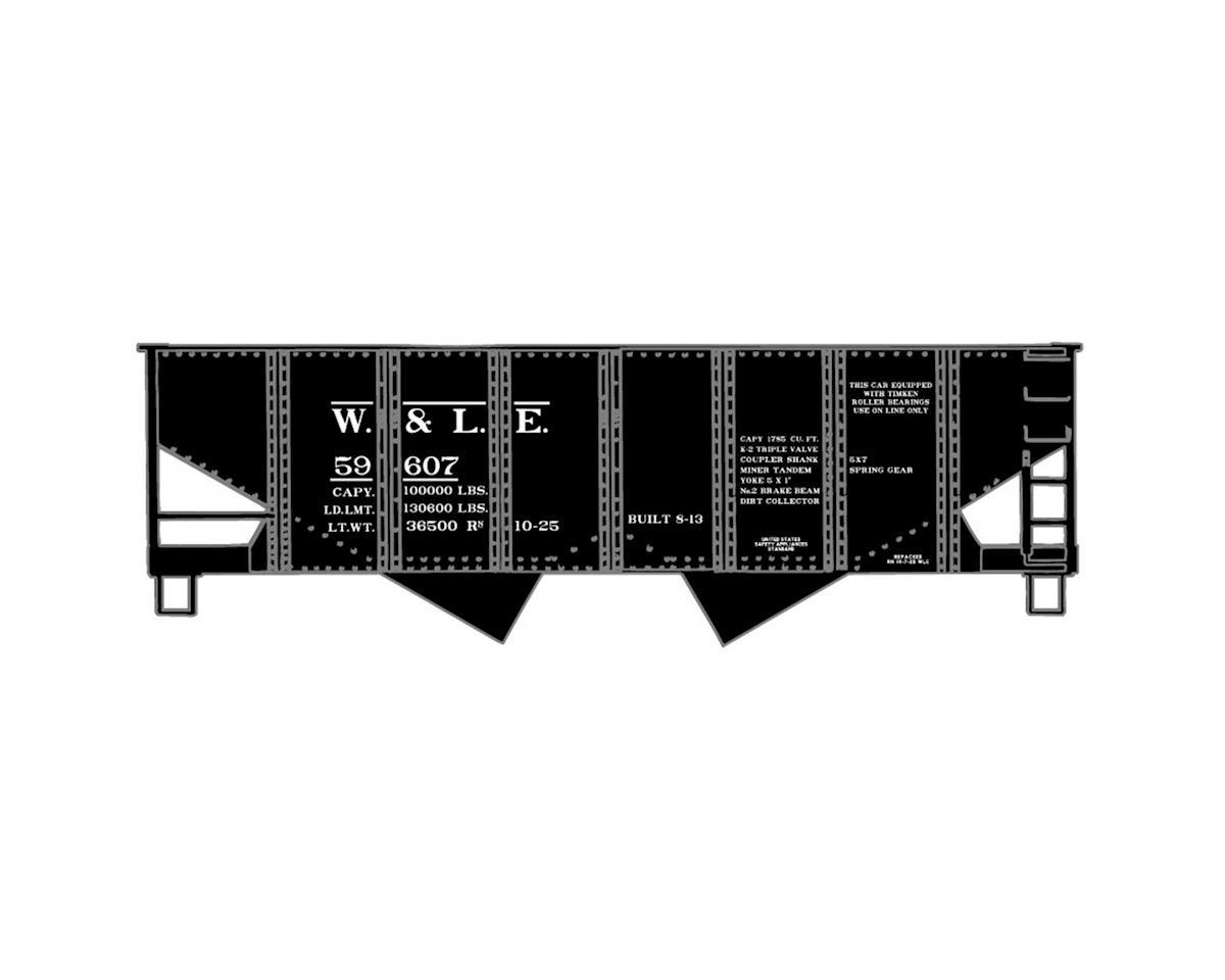 HO KIT USRA 55-Ton Twin Hopper, W&LE (3)