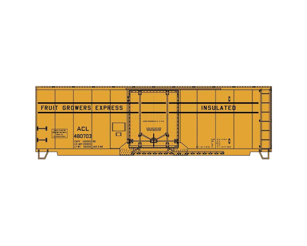 HO KIT 40' ARR Steel Plug Door Box, ACL/FGEX