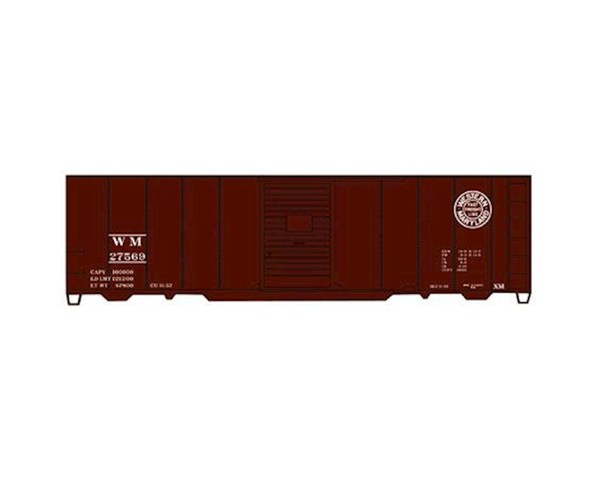 Accurail HO KIT 40' AAR Box, WM