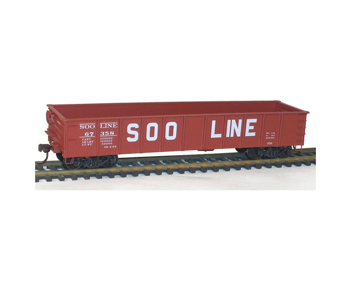 Accurail HO KIT 41' Steel Gondola, SOO