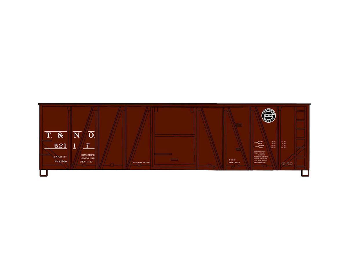HO KIT 40' Wood Outside Braced Box, T&NO/SP