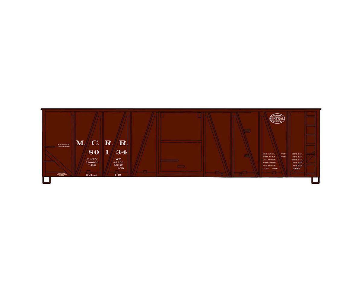 HO KIT 40' Single Sheath Wood Box, MCRR/NYC