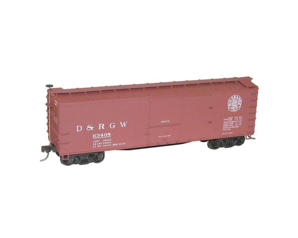 Accurail HO KIT 40' USRA Wood Double Sheathed Box, D&RGW
