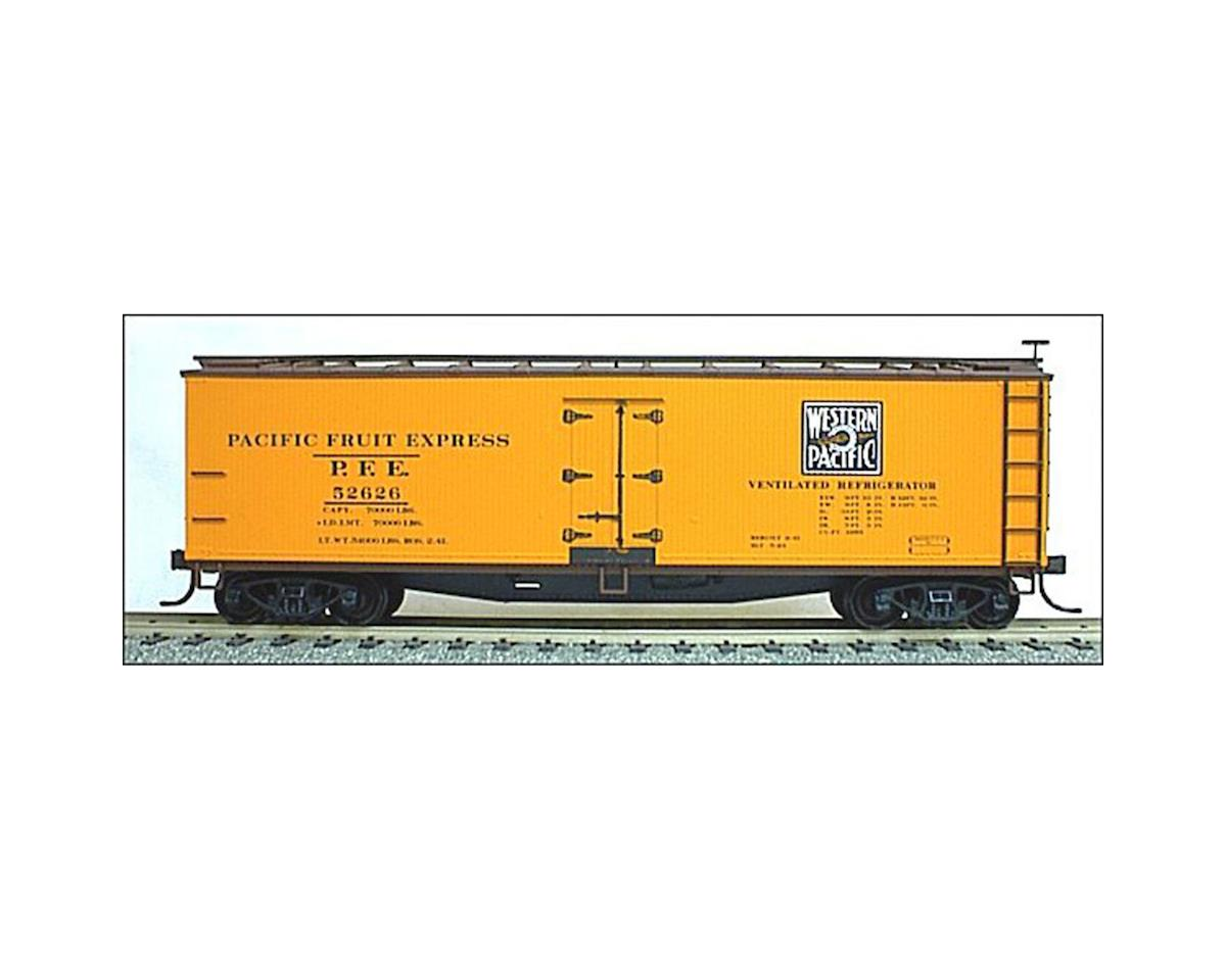 Accurail HO KIT 40' Wood Reefer, WP/PFE