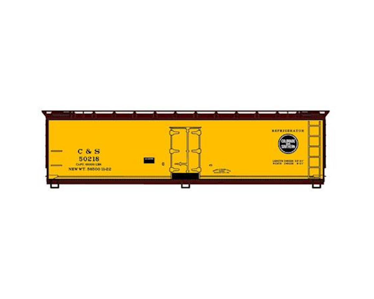 Accurail HO KIT 40' Wood Reefer, C&S