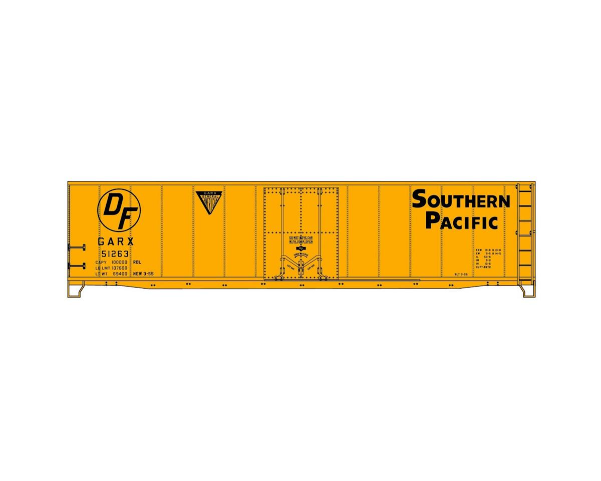 Accurail HO KIT 40' AAR Plug Door Box, SP/GARX