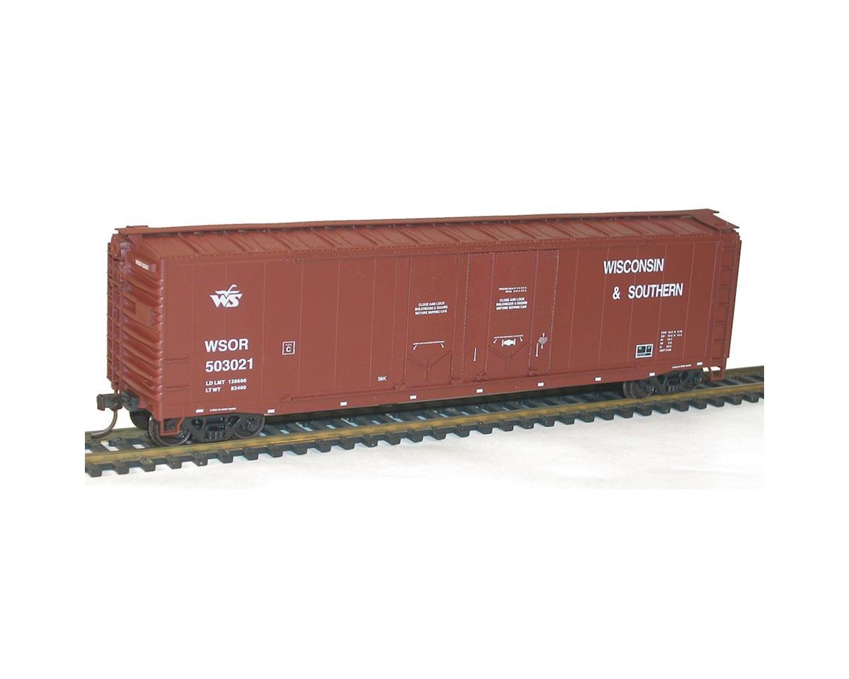 Accurail 50'AAR Dbl PD Box WSOR