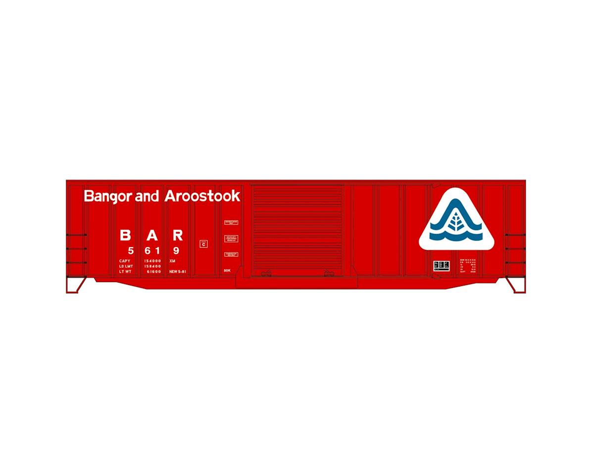 Accurail HO KIT 50' Exterior Post Steel Box, BAR
