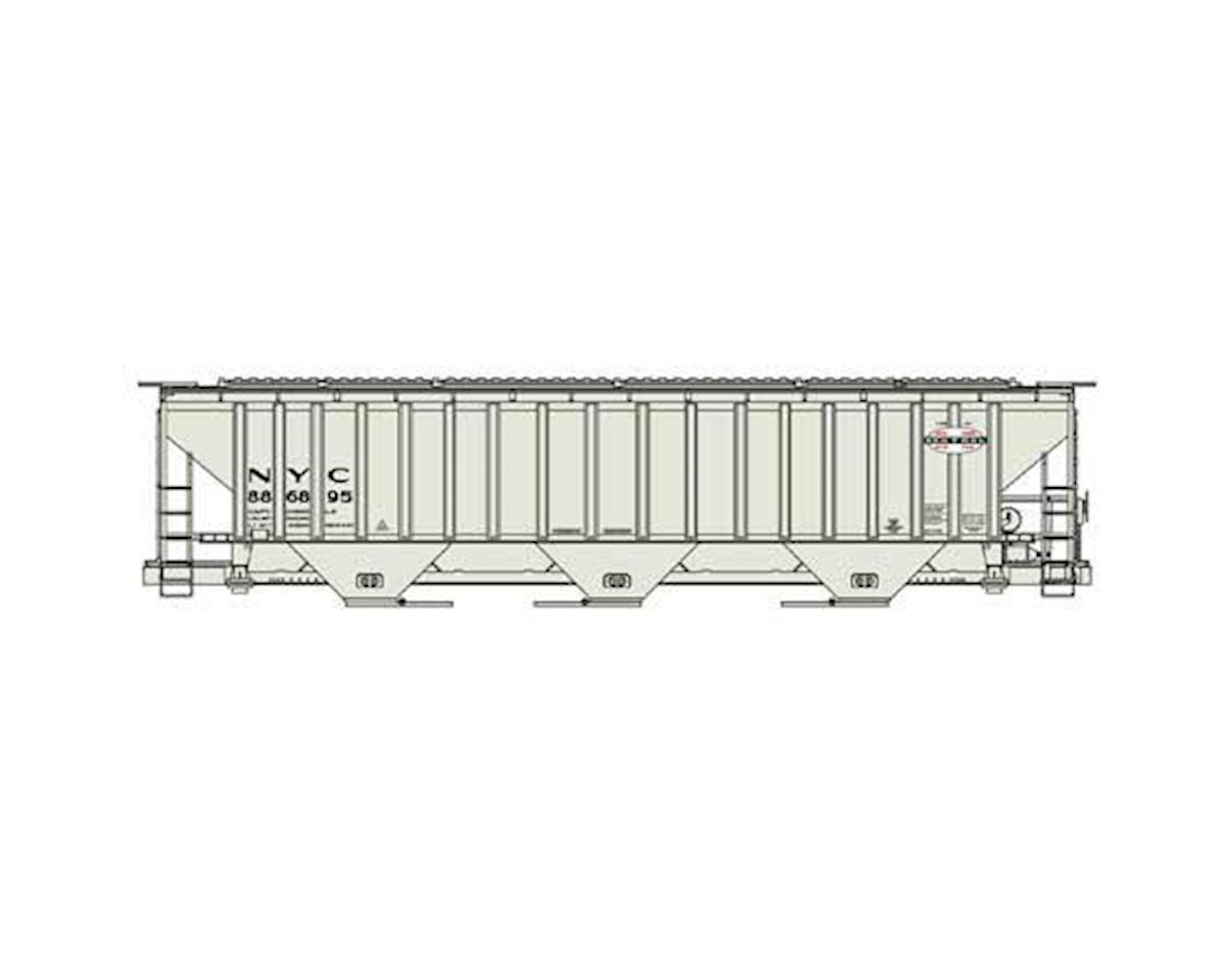 Accurail HO KIT PS-4750 3-Bay Covered Hopper, NYC