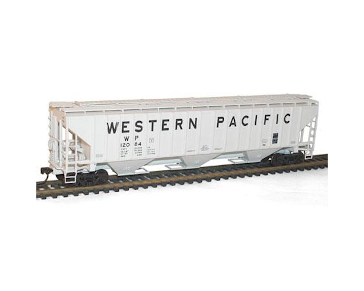 Accurail HO KIT PS-4750 3-Bay Covered Hopper, WP
