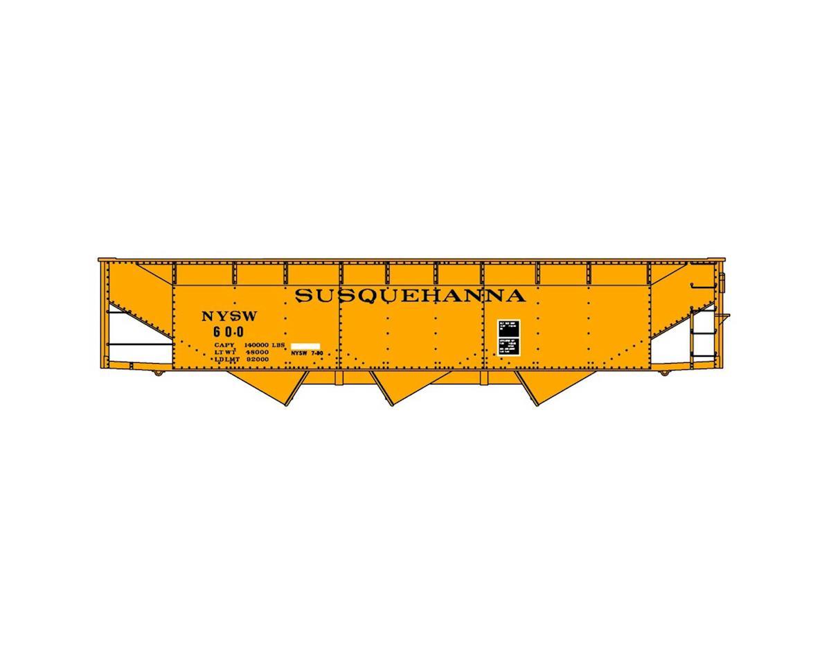 Accurail HO KIT 70-Ton Offset Triple Hopper, NYS&W