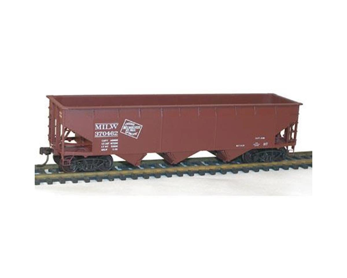 Accurail HO KIT 70-Ton Offset Hopper, MILW