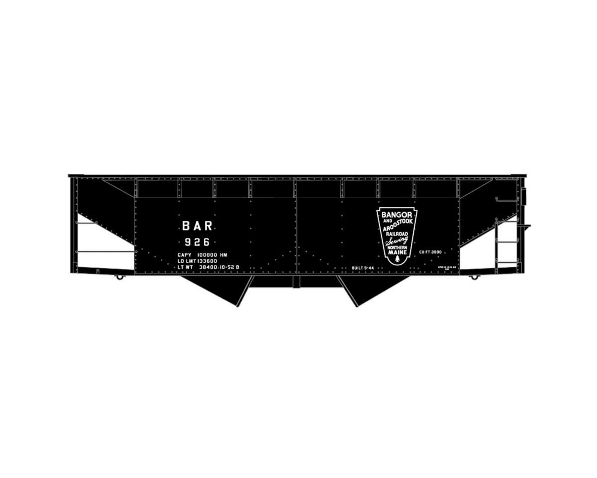 HO KIT Offset-side Twin Hopper, BAR