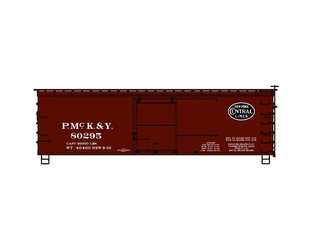 HO KIT 36' Wood Box, PMcK&Y