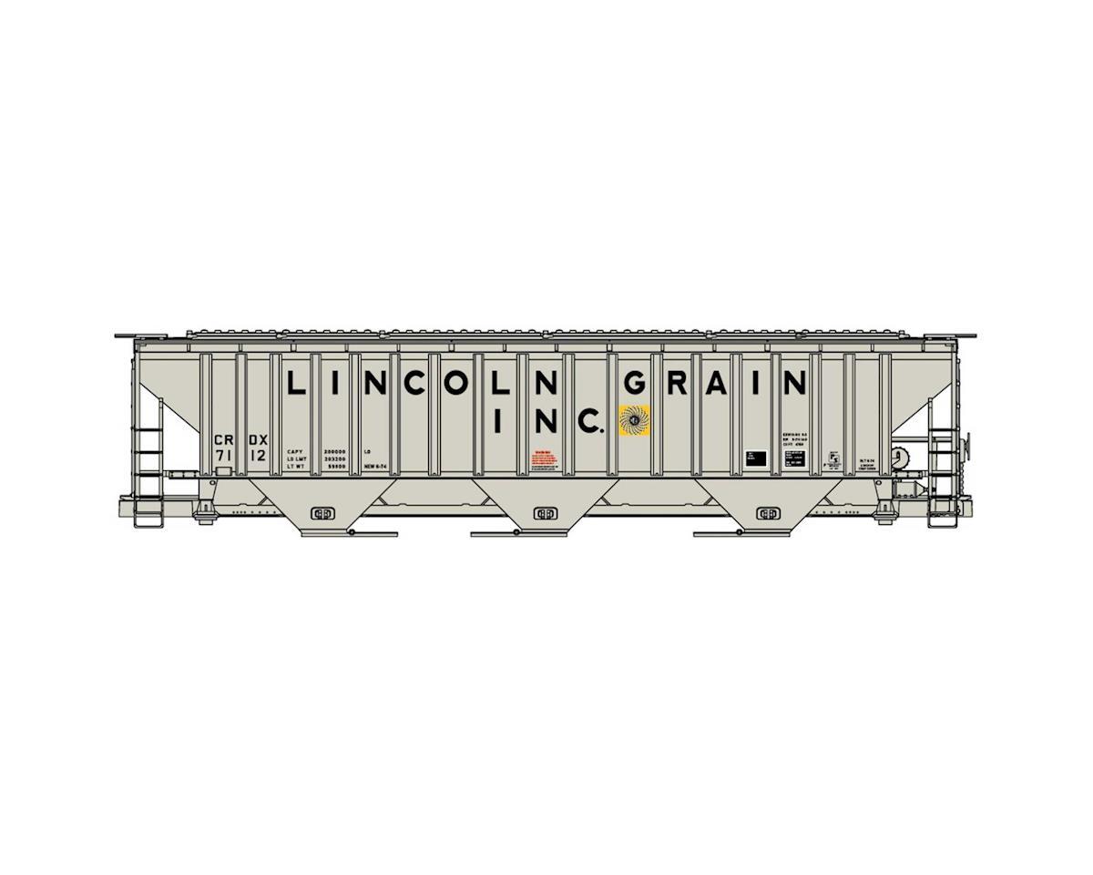 Accurail HO KIT PS4750 Cov Hop, Lincoln Grain