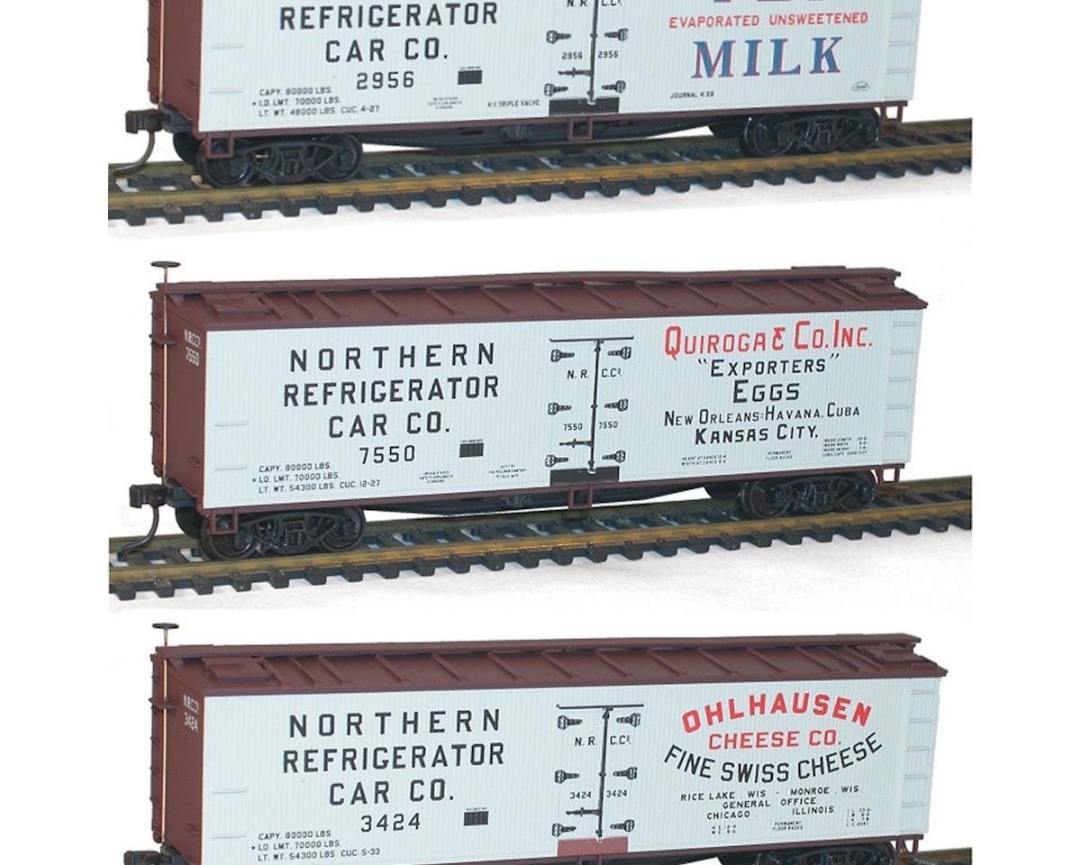 Accurail HO KIT 40' Wood Reefer, Dairy/Billboard (3)